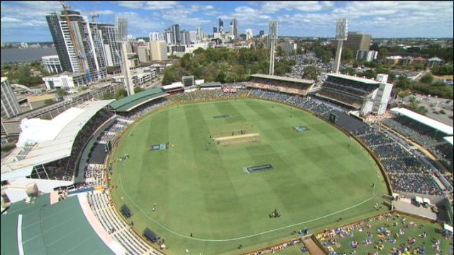 England v Australia: 4th ODI, Perth - England Innings