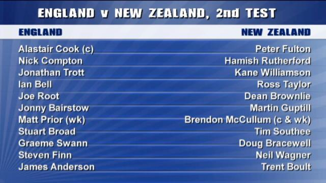 England v New Zealand - 2nd Test Highlights, Day 2 AM