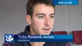 Roland-Jones delighted with EPP call