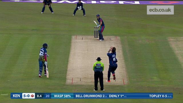 Kent v Essex - Natwest T20 Blast, Kent Innings