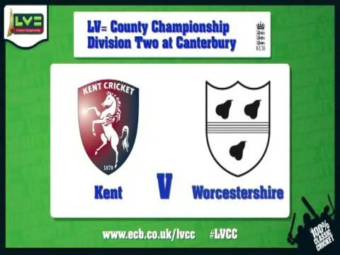 Kent v Worcestershire - Day 1