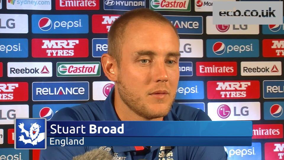 Stuart Broad ready for 'one of biggest games'