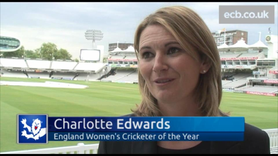 Edwards wins Women's Cricketer of the Year