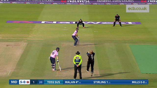 Middlesex v Sussex - Natwest T20 Blast - Middlesex Innings