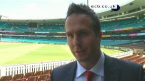 Exclusive with Michael Vaughan