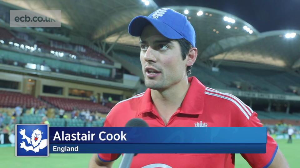 We should have won says Cook