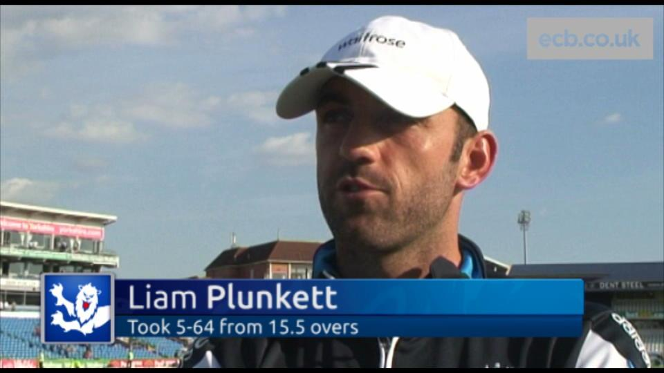 Plunkett enjoys 'awesome' day