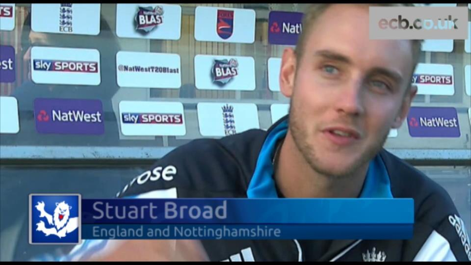 Broad on England and injuries