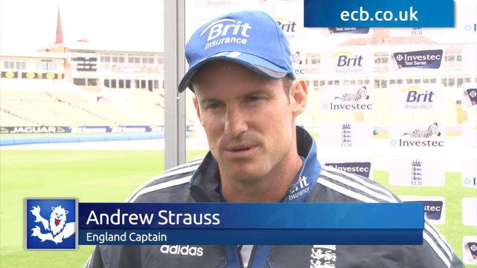 Strauss discusses team line-up