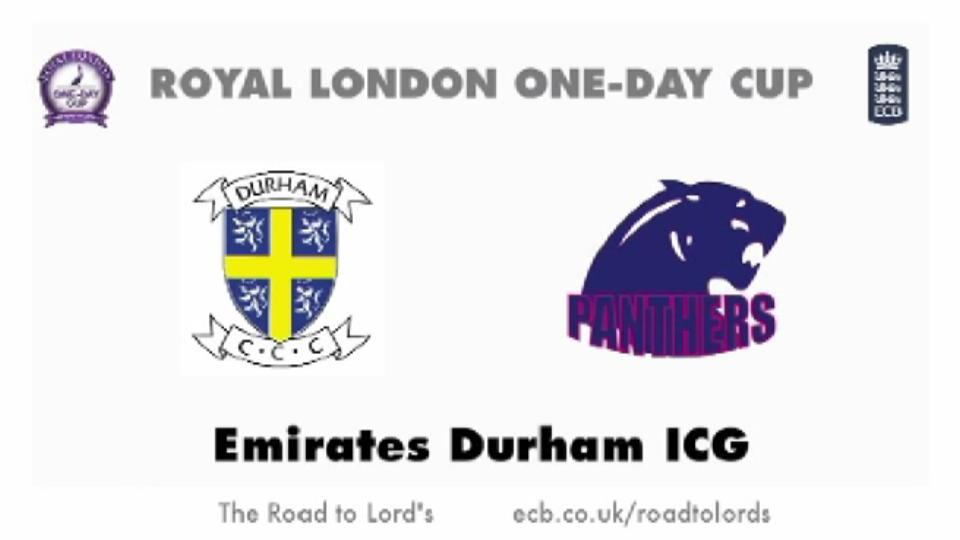Durham v Middlesex Panthers