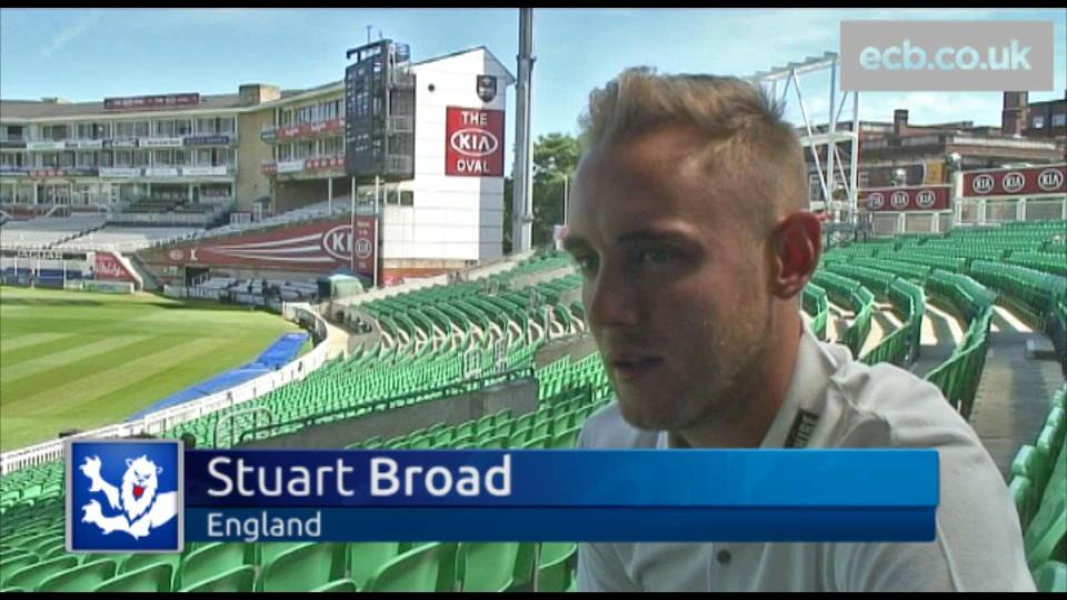 Broad previews Lord's Test