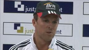 Swann delighted with day