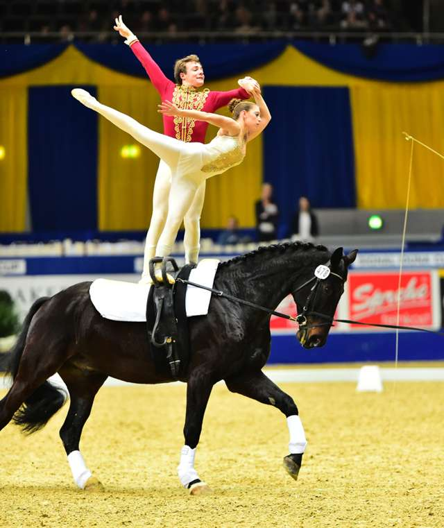 Highlights from the FEI World Cup Vaulting Final in Dortmund are available now.