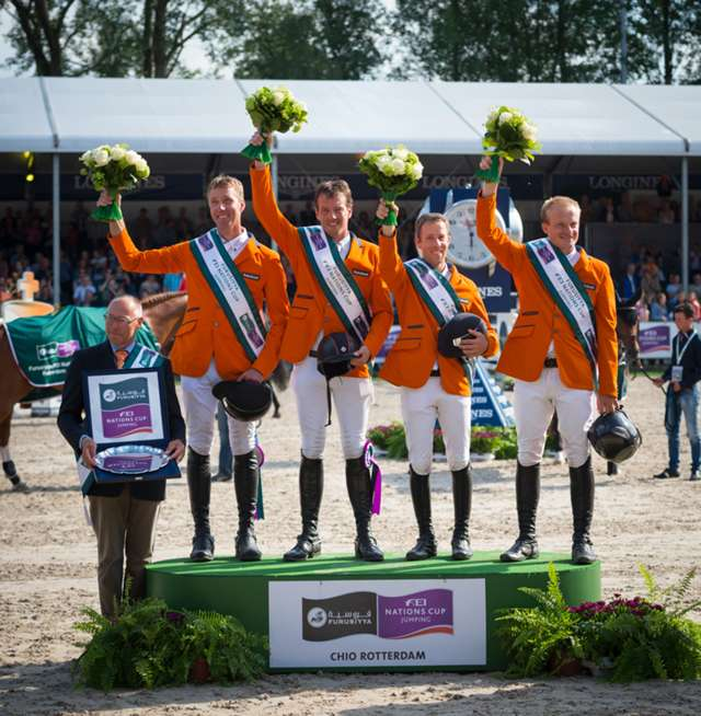 The flying Dutchmen win Furusiyya leg on home ground in Rotterdam - Watch Highlights here