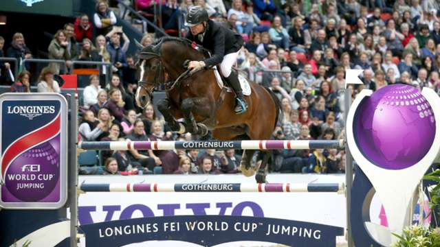 Highlights from the final qualifying leg of the Longines FEI World Cup™ Jumping series in Gothenburg are now available online.