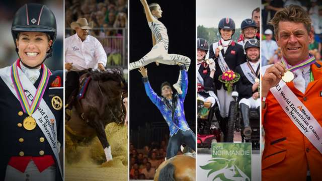 Highlights from the Alltech FEI World Equestrian Games™ 2014 in Normandy