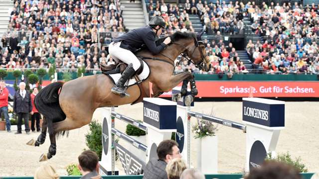 Highlights from the ninth leg of the Longines FEI World Cup™ Jumping 2014/15 series in Leipzig are now available online.