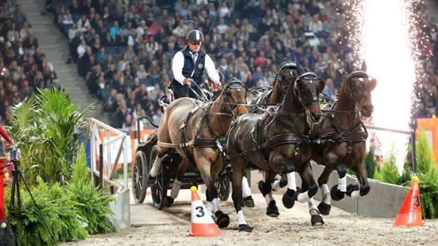Highlights from the third leg of the FEI World Cup™ Driving 2014/15 season in Stockholm are now available online.