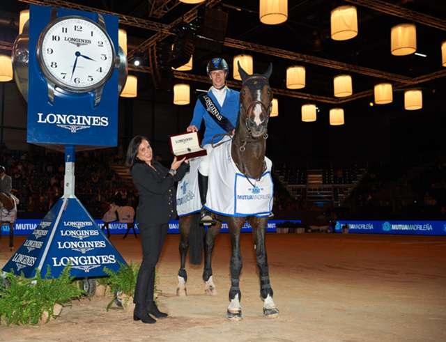 Highlights of the Longines FEI World Cup Jumping from Madrid are available now.