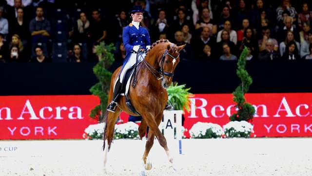 Highlights from the second leg of the Reem Arca FEI World Cup™ Dressage 2014/15 season in Lyon are now available online.