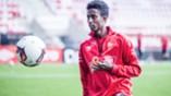 Trening på Stadion mai 2016 - Anas Farah