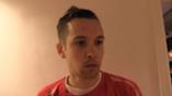 Martin Thømt Jensen etter kampen mot Sarpsborg 08