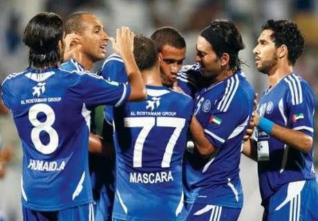 النصر الإماراتي يقهر الجيش القطري ويقترب من بطاقة التأهل