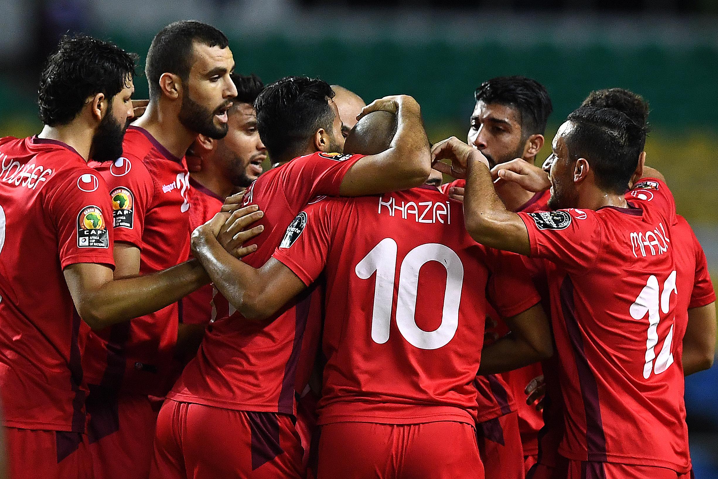 تونس تفوز على زيمبابوي برباعية. وتتأهل لدور ربع النهائي