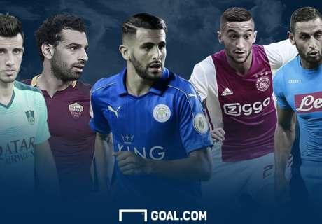 الاستفتاء الكبير | اختر أفضل لاعب عربي من هؤلاء ال20