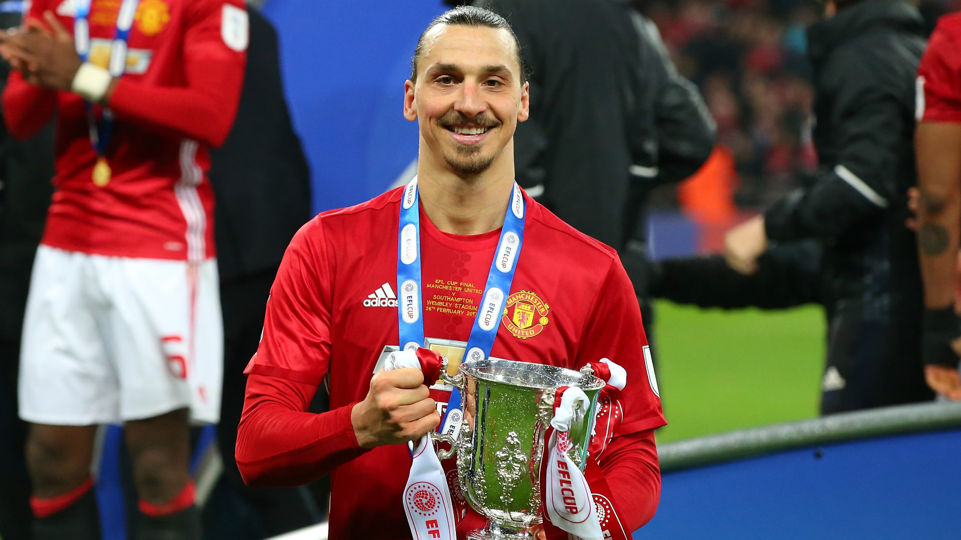 Zlatan Ibrahimovic Manchester United EFL Cup 26022017