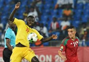 فيصل فجر في مباراة المغرب وتوجو بامم افريقيا 2017