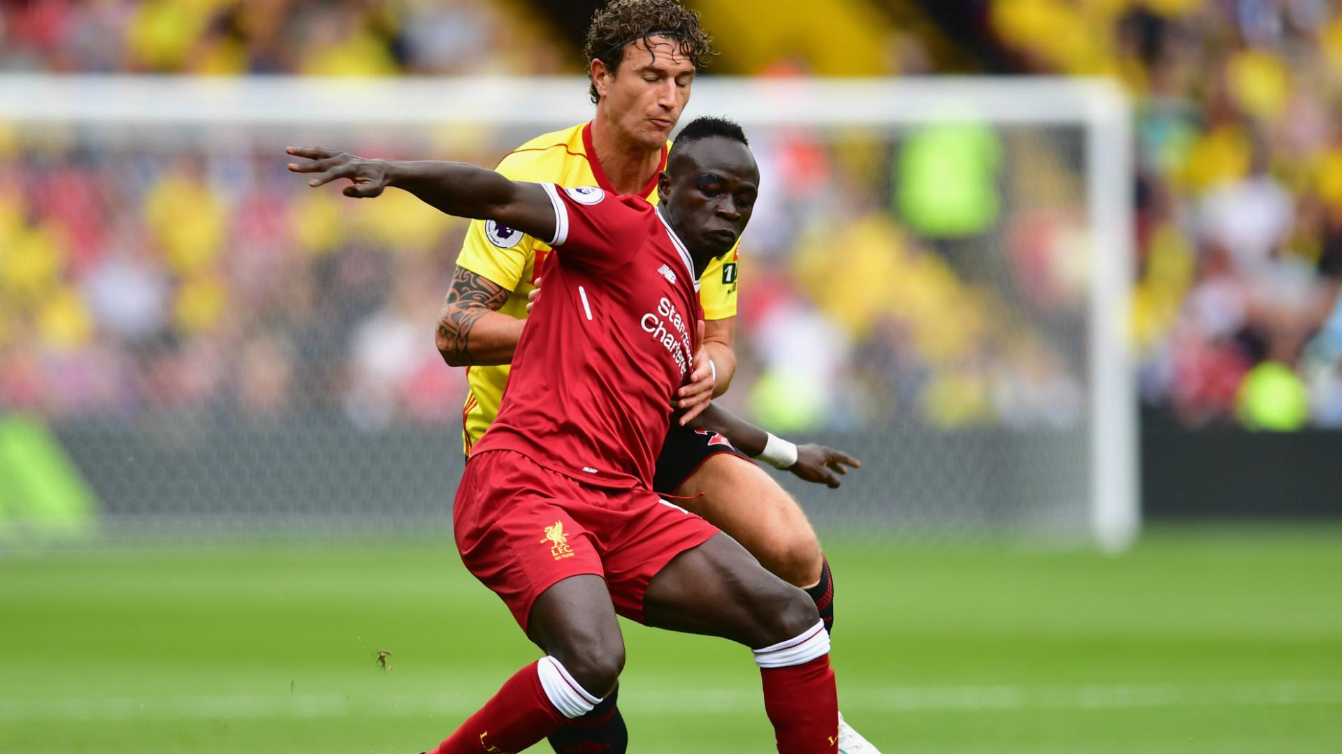 Sadio Mane Liverpool Premier League 12082017
