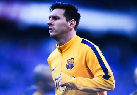 Messi ya descansa en casa