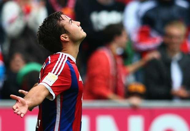 Bayern Munich 2-0 Stuttgart: Gotze and Ribery secure win for Guardiola's men