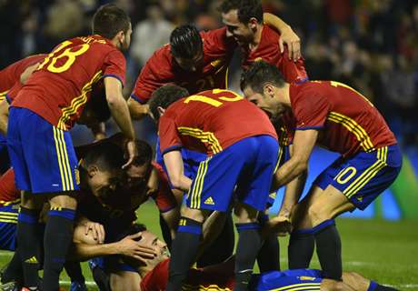Spanien gegen Bosnien und Südkorea