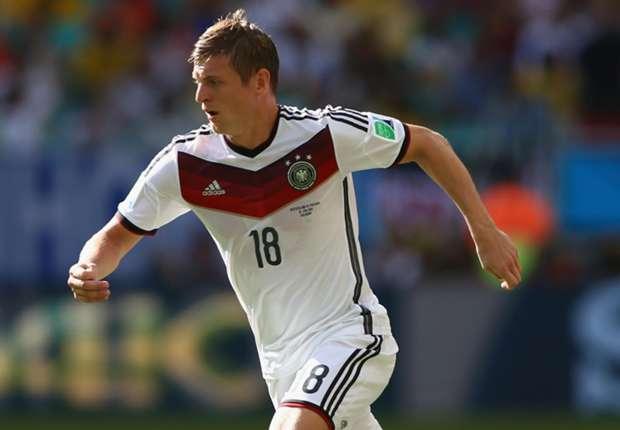 Toni Kroos ha sido uno de los más destacados de Alemania en lo que va de Mundial.