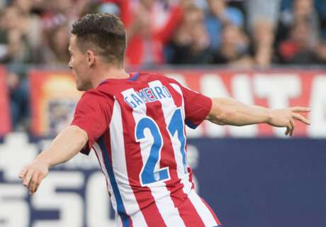 Carrasco double lifts 10-man Atletico