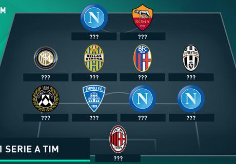 Top-11 Italien: Vorne und hinten Napoli