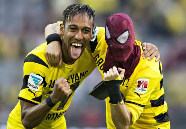 pierre emerick aubameyang l ist bester bvb torsch tze. Black Bedroom Furniture Sets. Home Design Ideas