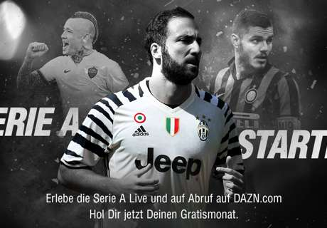 Italiens Serie A TIM LIVE bei DAZN