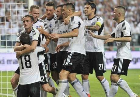 Metalist 0-1 Legia Warsawa
