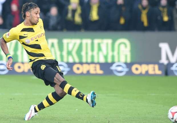 Freiburg 0-3 Dortmund: Aubameyang double breathes life into struggling BVB