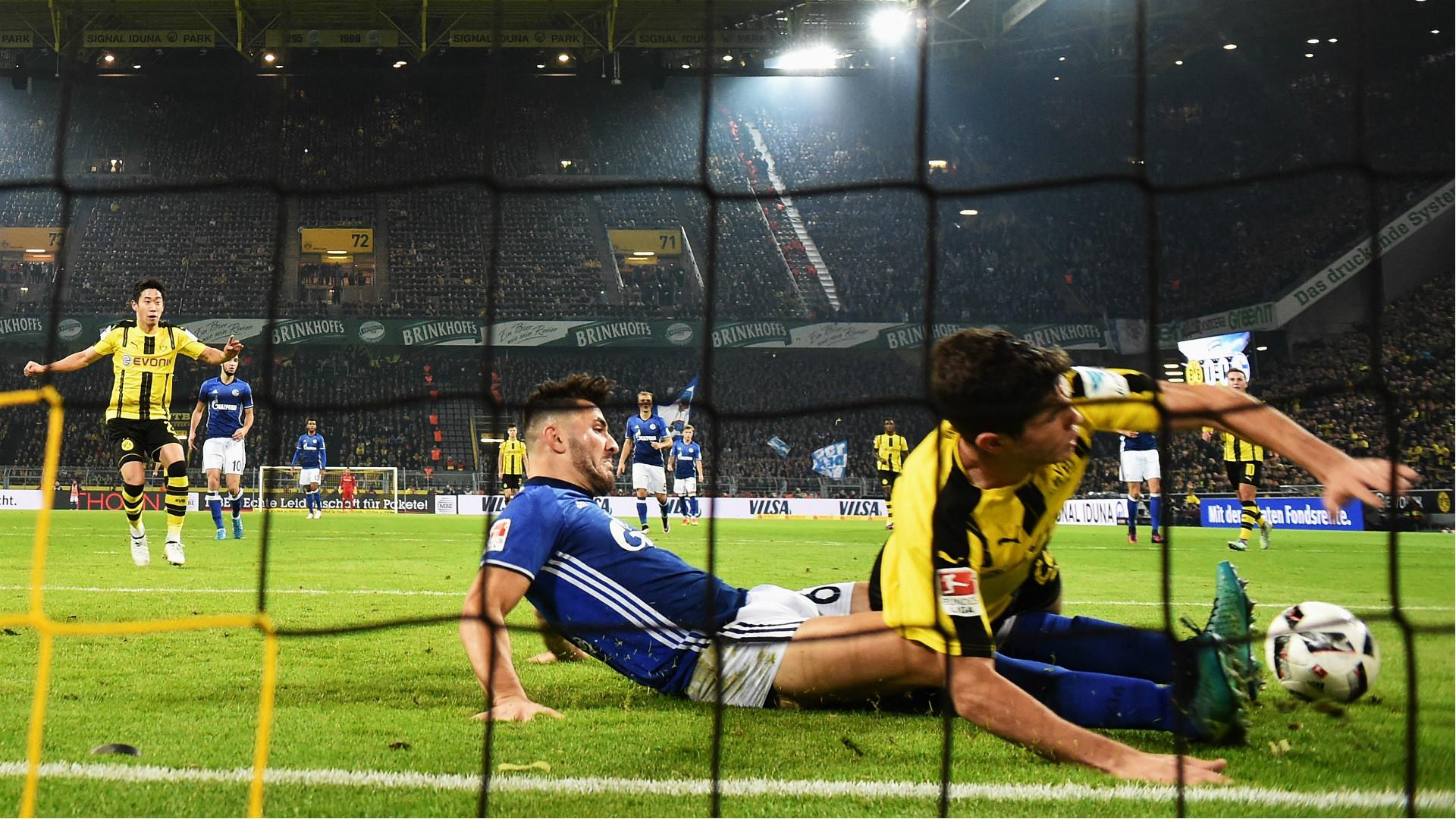 Sead Kolasinac Borussia Dortmund FC Schalke 04 29102016