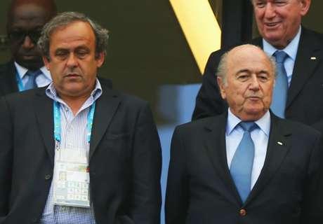 Platini le pidió la renuncia a Blatter