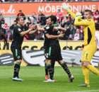 Un but de la main marqué en Allemagne