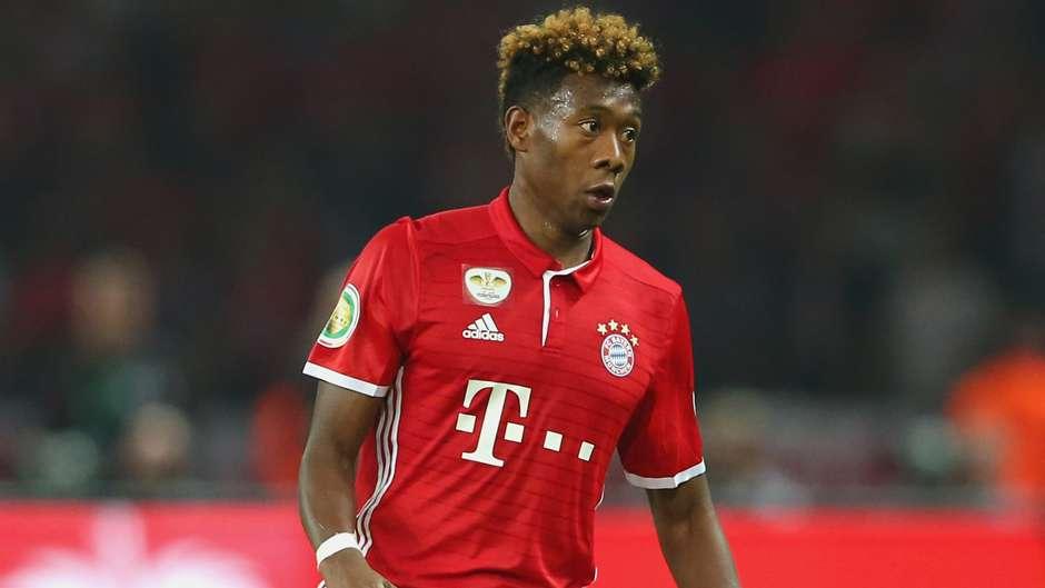 David Alaba FC Bayern München Borussia Dortmund 05212016