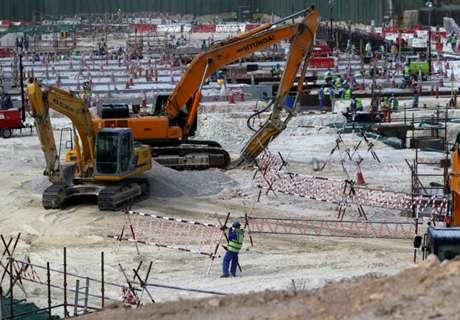 Türkei baut WM-Stadion in Katar