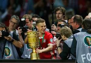 Joshua Kimmich absolvierte in seiner ersten Saison beim FC Bayern 36 Pflichtspiele