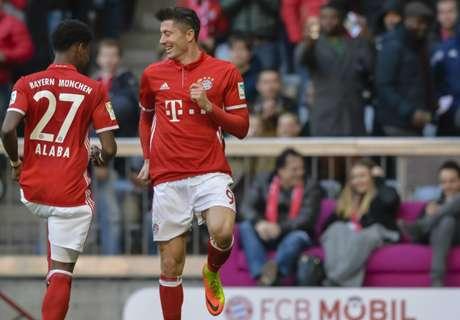 Bayern Munich-Hambourg 8-0, résumé du match