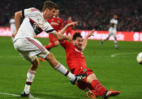 RATINGS: Hannover 0-1 Bayern